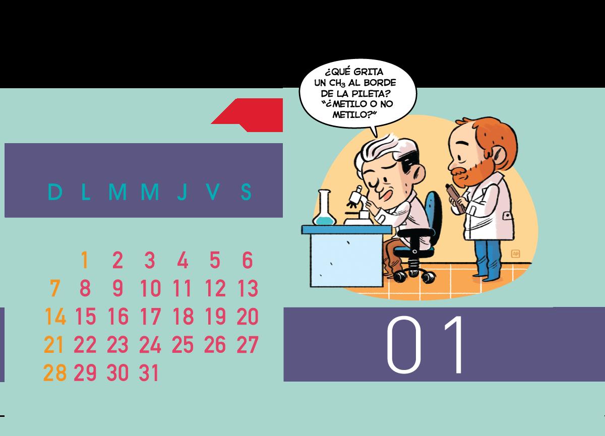 Calendario Jenck - Enero 2018