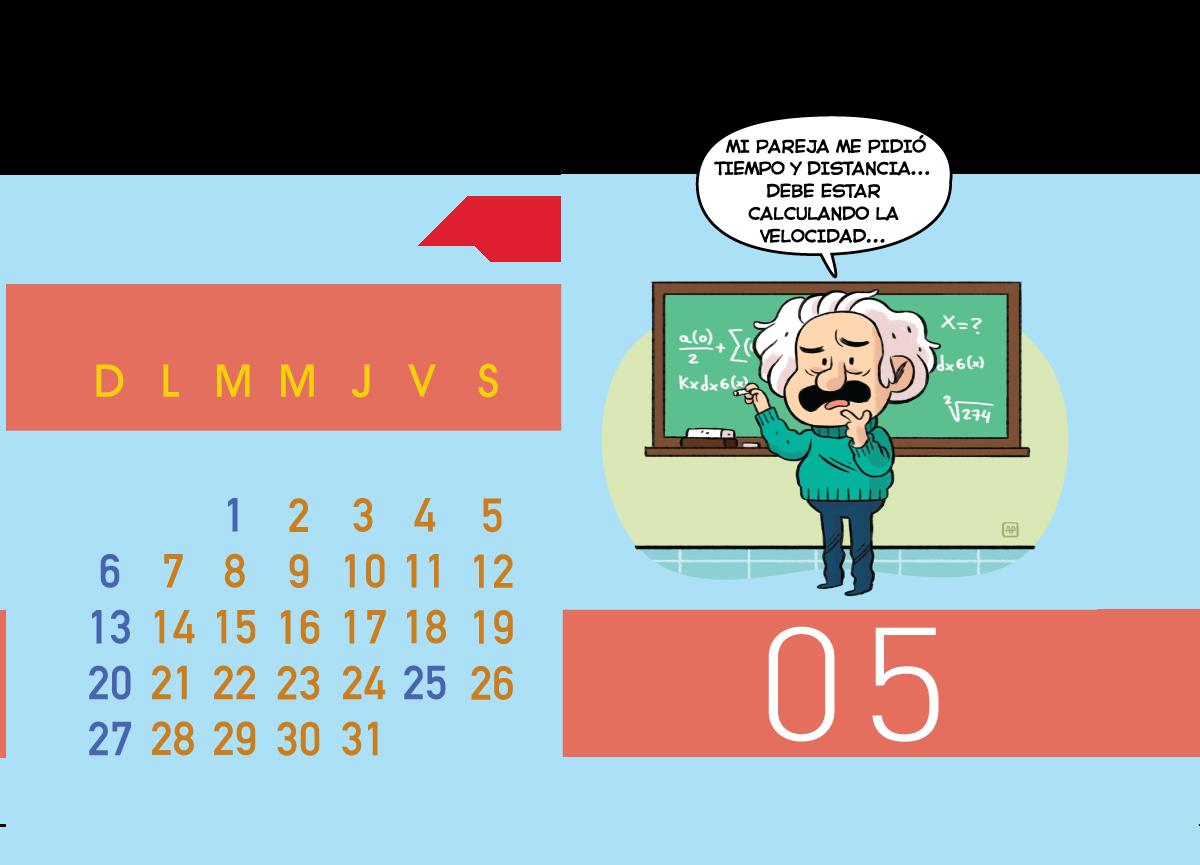 Calendario Jenck - Mayo 2018