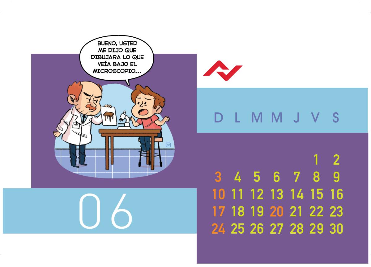 Calendario Jenck - Junio 2018