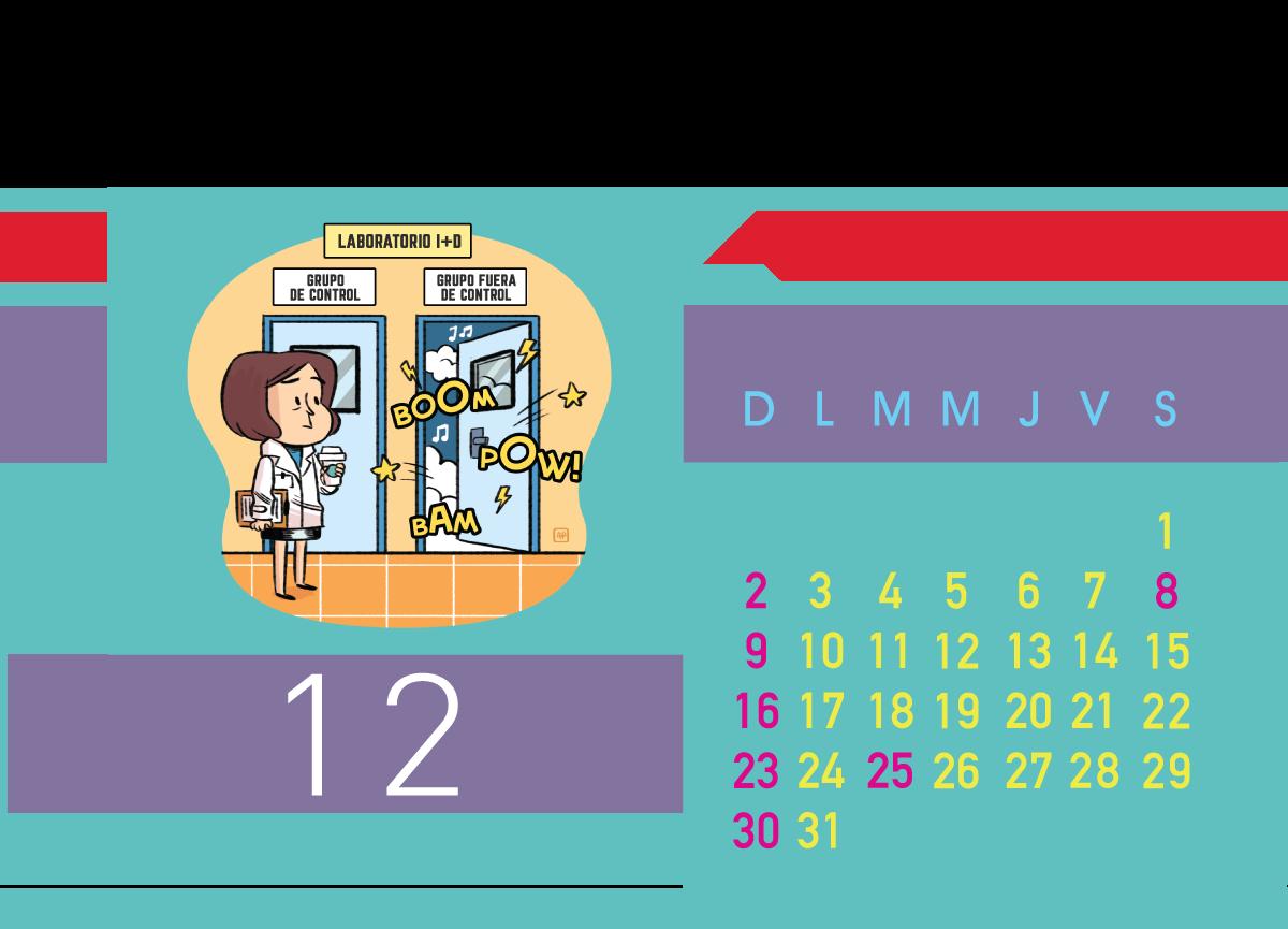 Calendario Jenck - Diciembre 2018
