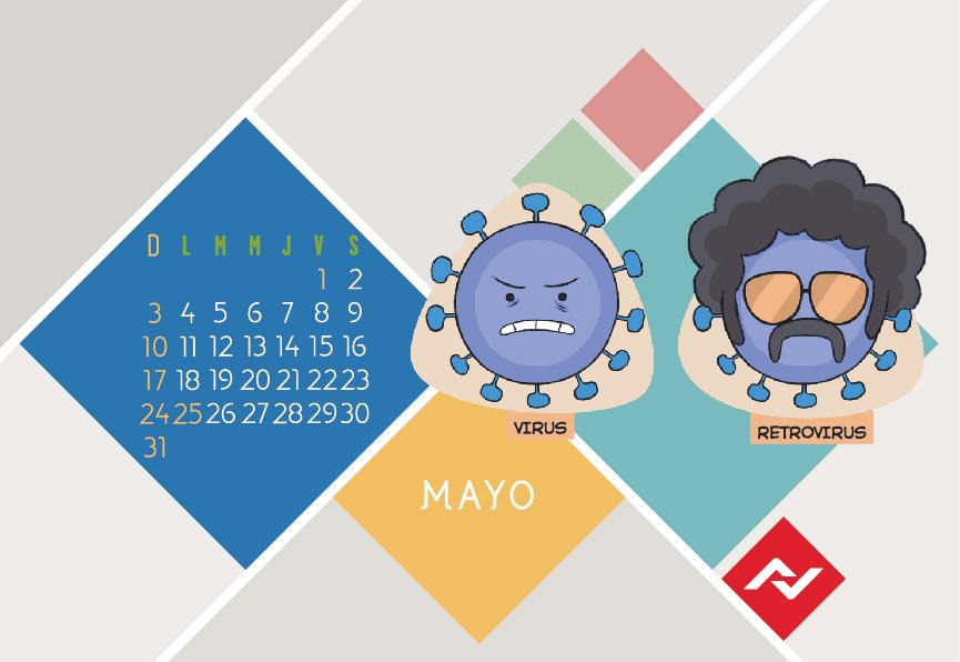 Calendario Jenck - Mayo 2020