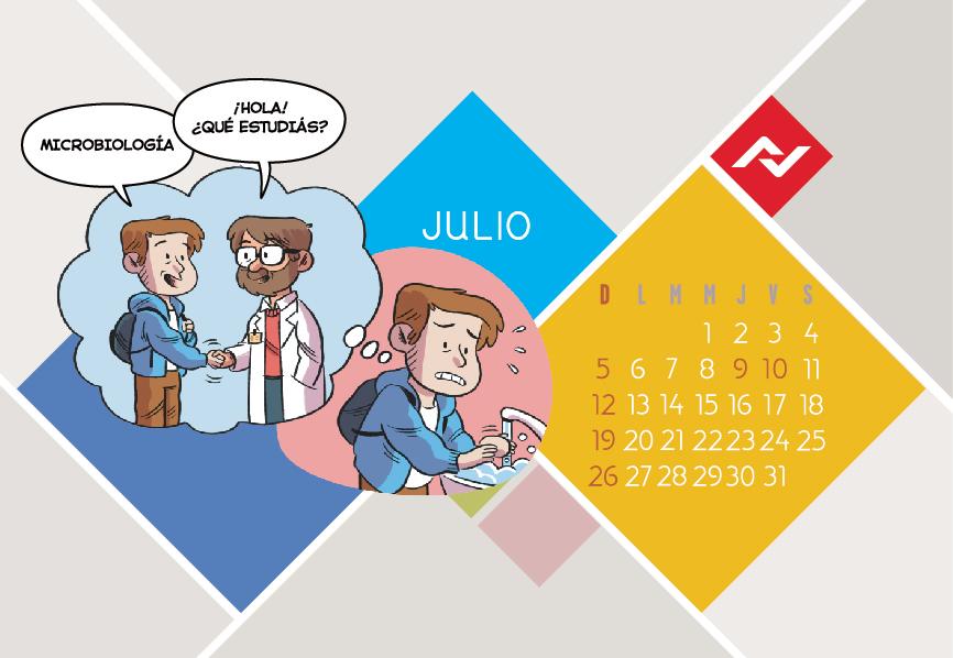 Calendario Jenck - Julio 2020