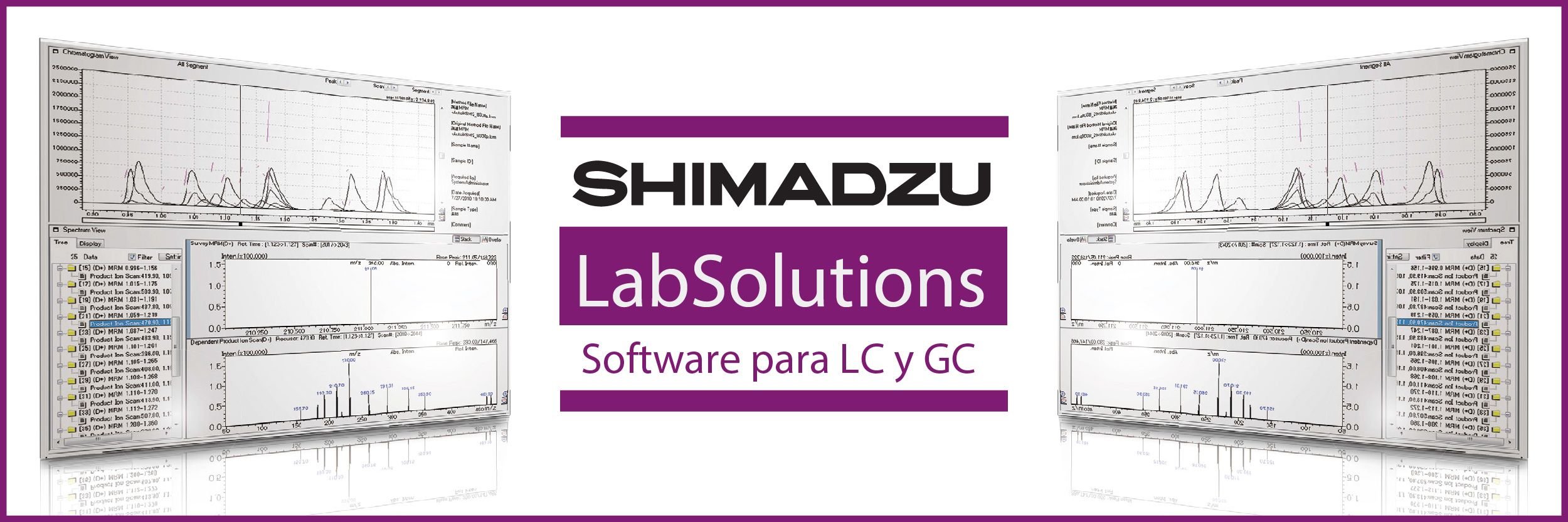 Nuevo software para LC y GC integral: LabSolutions CS