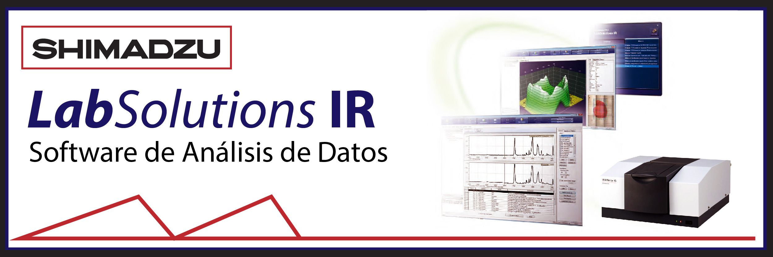 LabSolutions IR: Software de análisis de datos para FTIR